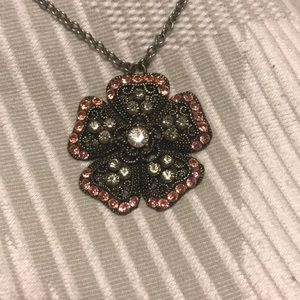 Beautiful Seasonal Whispers Flower necklace